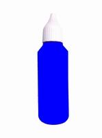 50 ml blaue Tinte